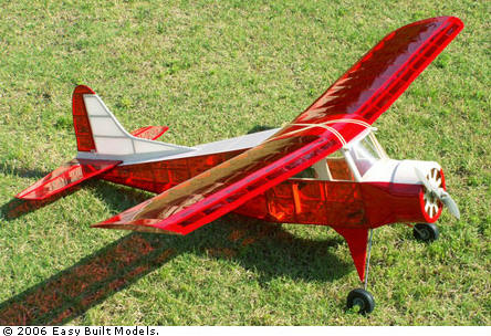 Easy Built Electric RC Model Kit De Havilland Beaver