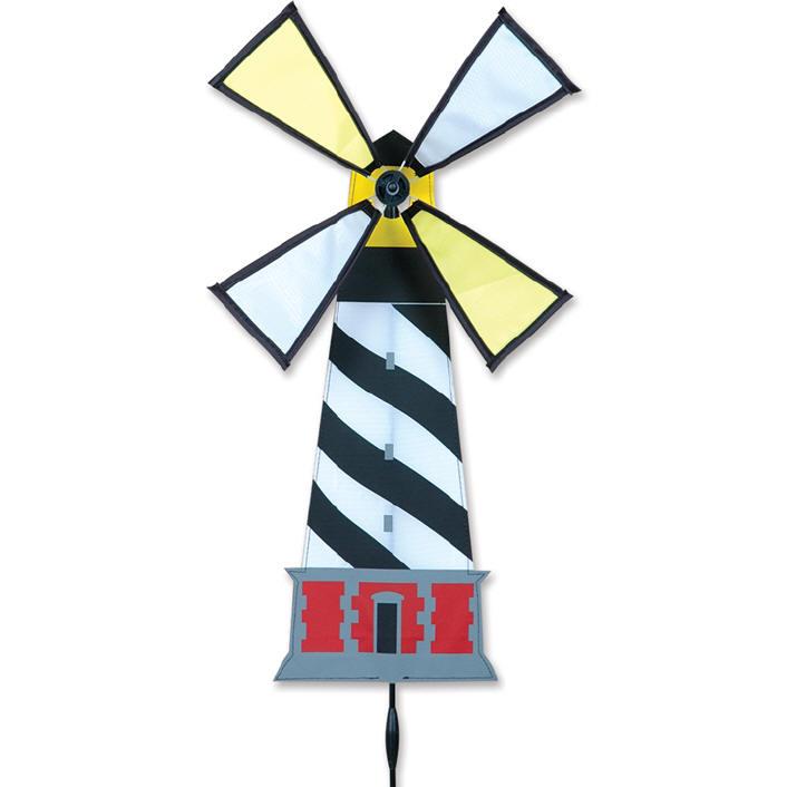 HATTERAS Lighthouse Wind Spinner Premier Windspinner
