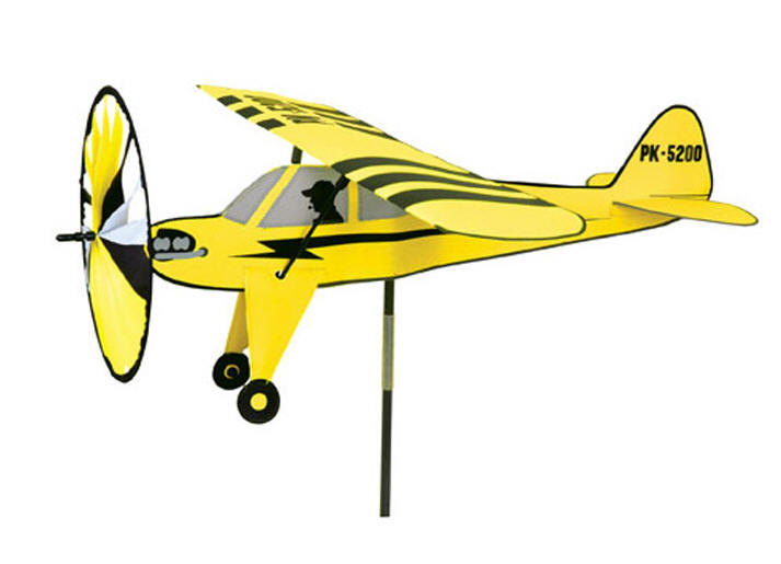 Airplane wind spinner Piper Cub