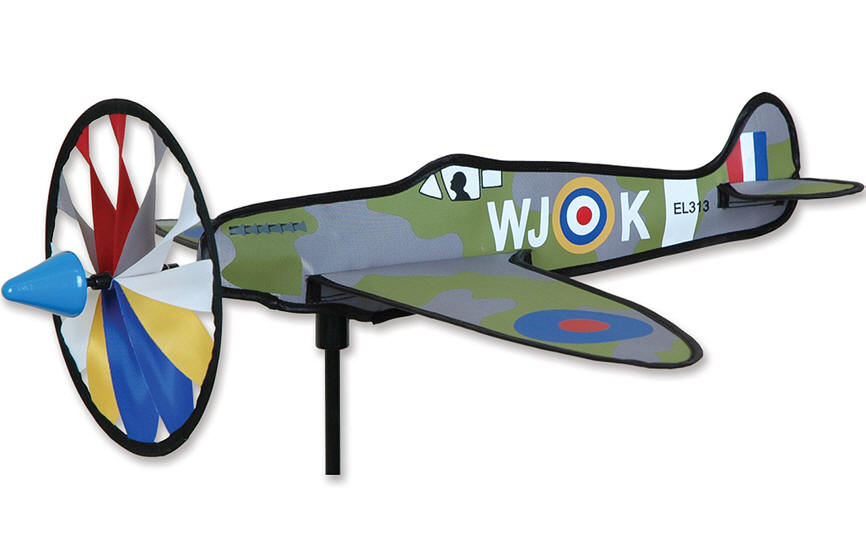 Spitfire 20 Inch Airplane Wind Spinner